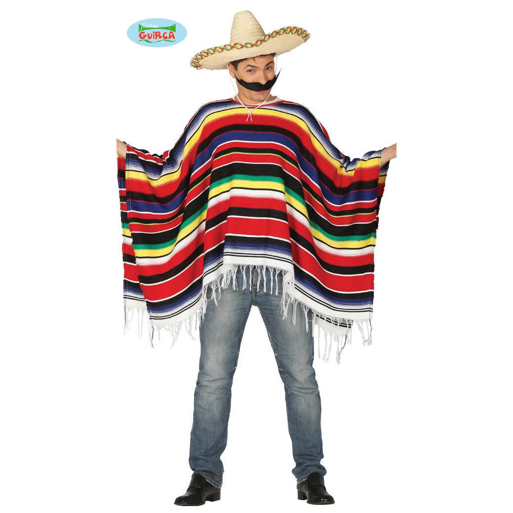 PONCHO MESSICANO - Costumi Uomo Shop Online Costumi c166880eec78